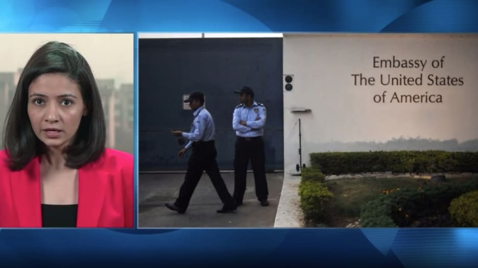 رصد حادثة اغتصاب في حرم السفارة الأمريكية بالهند