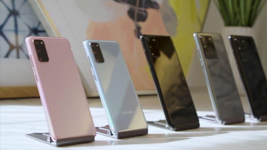 """تعرف إلى ميزات هاتف سامسونج الجديد """"غالاكسي S20"""""""