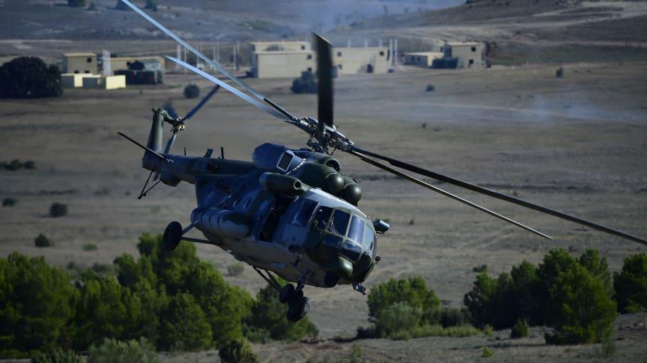 """تعرف على قدرات مروحية """"مي-17"""" الروسية"""