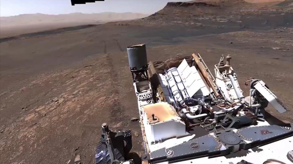 """""""ناسا"""" تلتقط صور عالية الجودة للمريخ من روفر على الكوكب"""