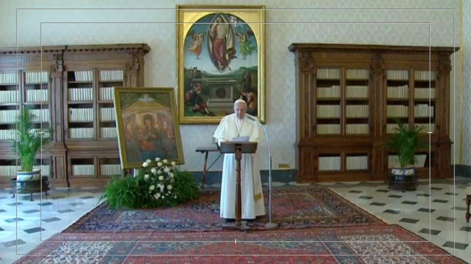 فيروس كورونا.. البابا فرانسيس يبث خطابه الأسبوعي عبر رابط فيديو