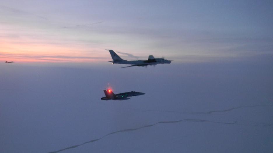 اعتراض طائرتي استطلاع روسيتين بالقرب من سواحل ألاسكا الأمريكية