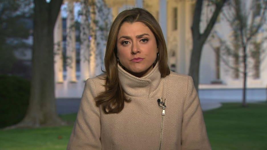 مراسلة CNN تصف الإجراءات الاحترازية ضد فيروس كورونا في البيت الأبيض