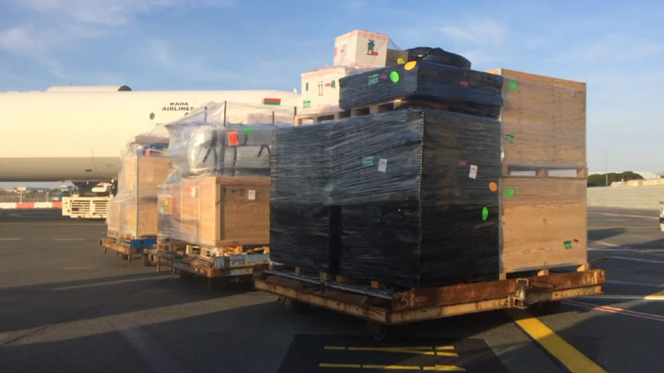 إرسال مستشفى قابل للنفخ إلى إيران للمساعدة في مواجهة فيروس كورونا