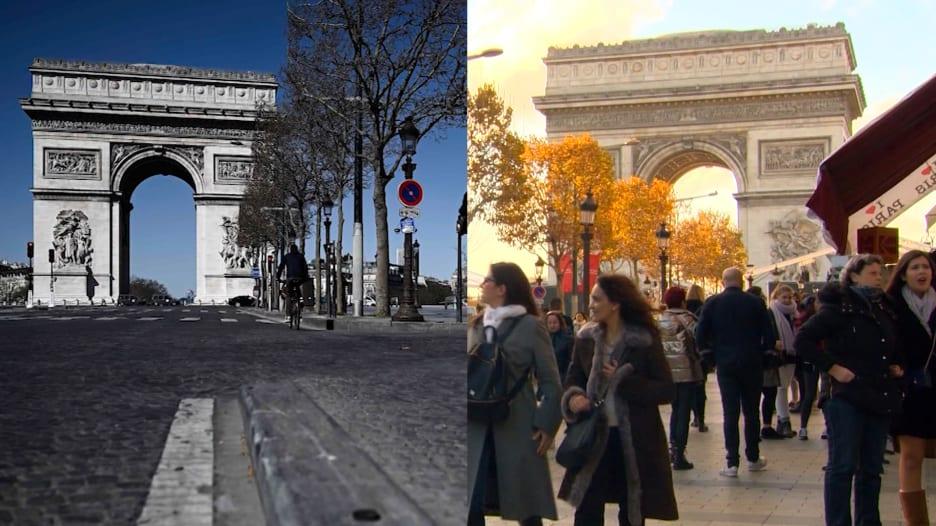 معالم أوروبا السياحية قبل وبعد جائحة فيروس كورونا