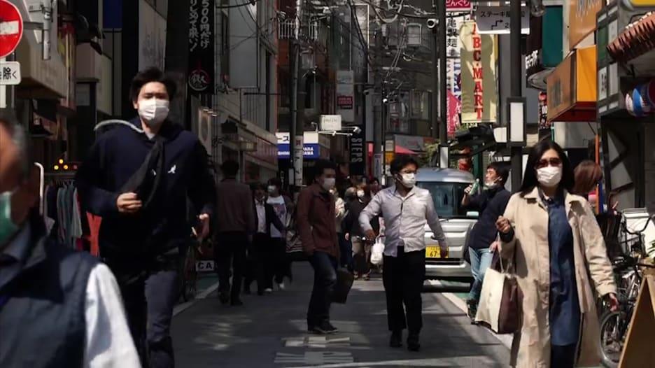 اليابان تعلن حالة الطوارئ لمواجهة انتشار فيروس كورونا في 7 محافظات