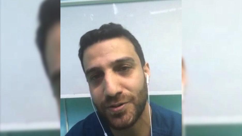 طبيب تخدير أردني يروي لموقع CNN عن 12 يوم عمل في العناية الحثيثة