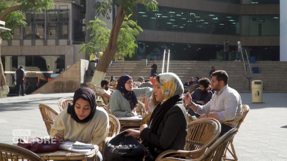 """الحرم اليوناني في القاهرة.. أول حديقة """"تكنولوجيا"""" في مصر"""