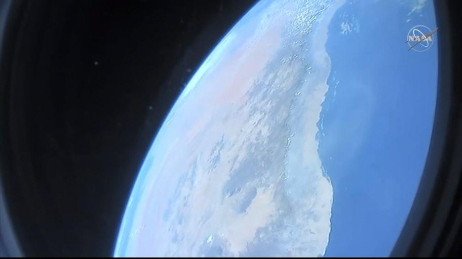 """هكذا بدت السعودية من كبسولة مركبة فضاء """"سبيس إكس"""""""