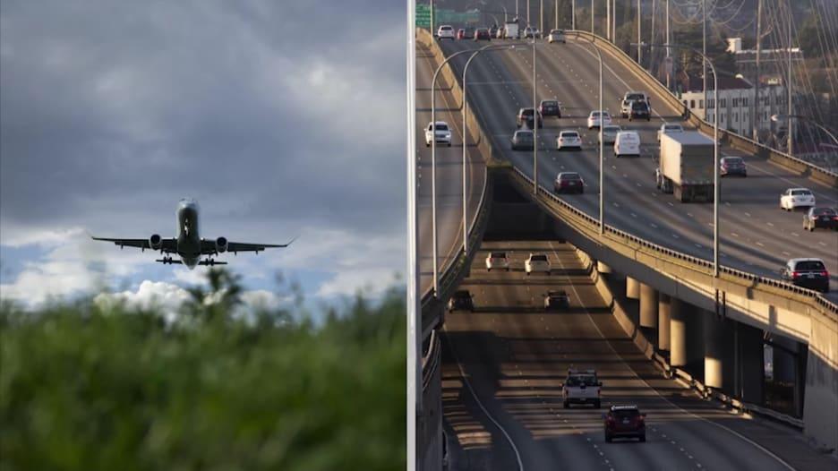 ما الأكثر أماناً.. السفر بالطائرة أو بالسيارة في ظل جائحة فيروس كورونا؟