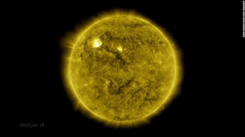 بفاصل زمني.. ناسا تنشر مقطع فيديو يعكس 10 سنوات من المشاهدات الشمسية