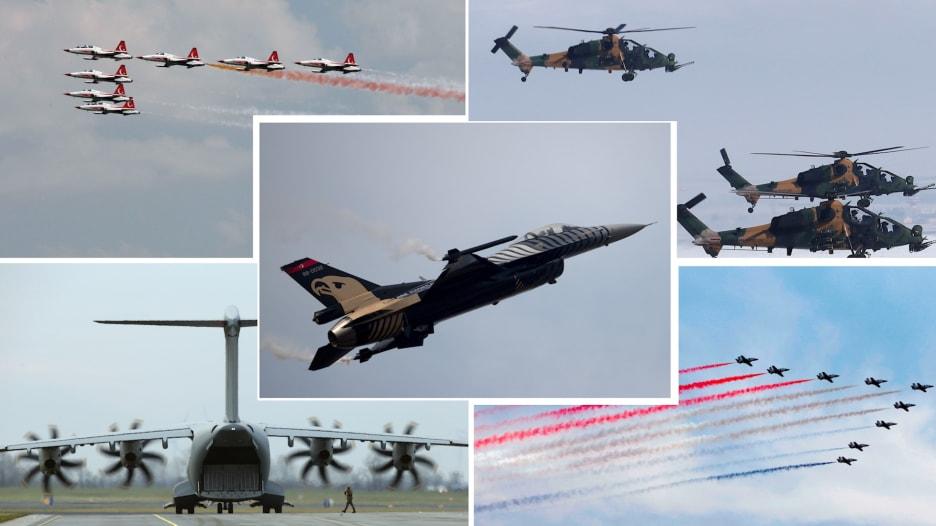 بين مصر وتركيا.. لمن تميل كفة القوة الجوية؟