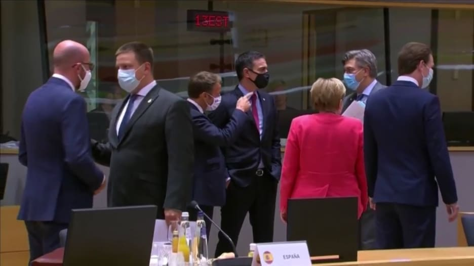 أوروبا.. الاتفاق على خطة إنقاذ مالي بـ750 مليار يورو لمواجهة كورونا
