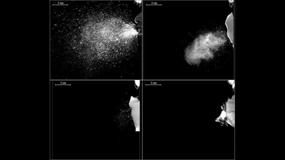 شاهد كيف تمنع الكمامة ذات الطبقات المتعددة انتشار فيروس كورونا