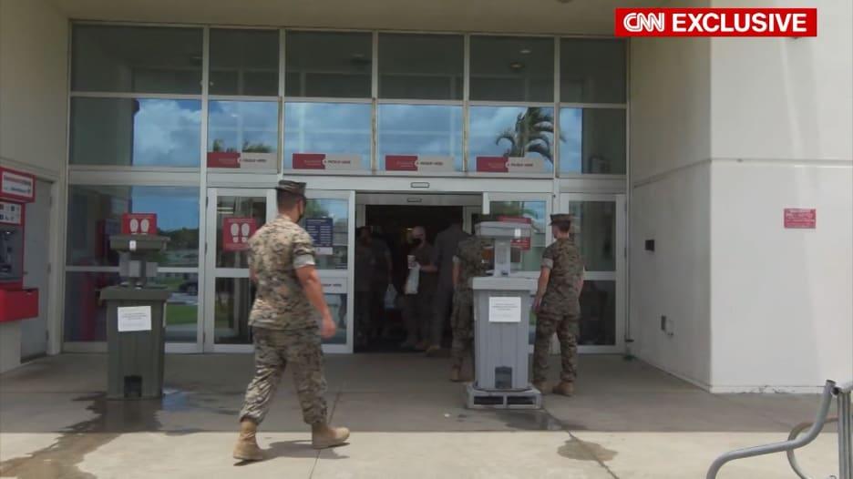 تزايد عدم الثقة في اليابان بعد إرتفاع حالات كورونا في القاعدة البحرية الأمريكية