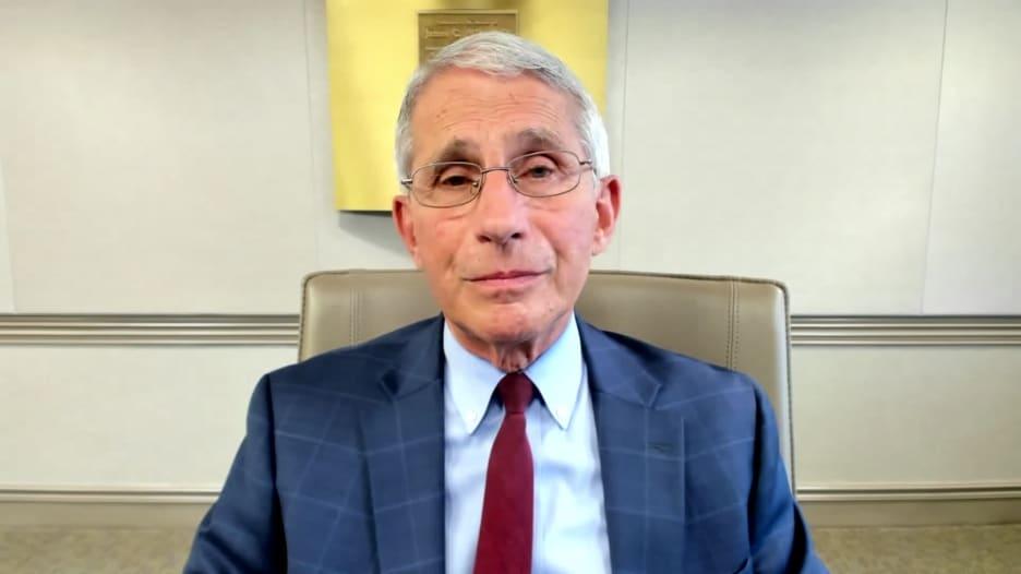"""دكتور أنتوني فاوتشي: نأمل أن يكون لقاح """"مودرنا"""" فعالا بنسبة أكبر من 60٪"""