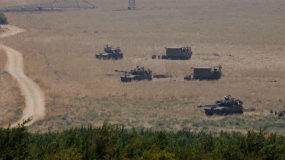 توترات وإطلاق نار على الحدود بين لبنان وإسرائيل
