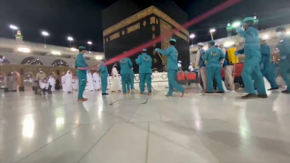 """شاهد استعدادات السعودية لموسم حج """"غير مسبوق"""" بسبب كورونا"""