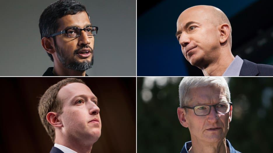رؤساء غوغل وأمازون وفيسبوك وأبل يواجهون الكونغرس الأمريكي بأكبر جلسة من نوعها منذ أكثر من 20 عاماً