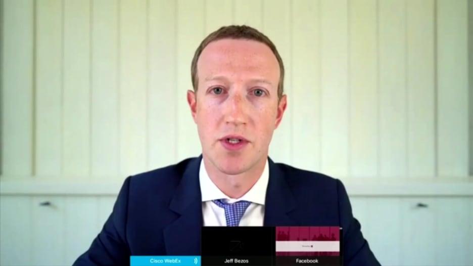 """زوكربيرغ يعترف خلال جلسة الكونغرس أن انستغرام كان """"منافساً"""" لفيسبوك"""