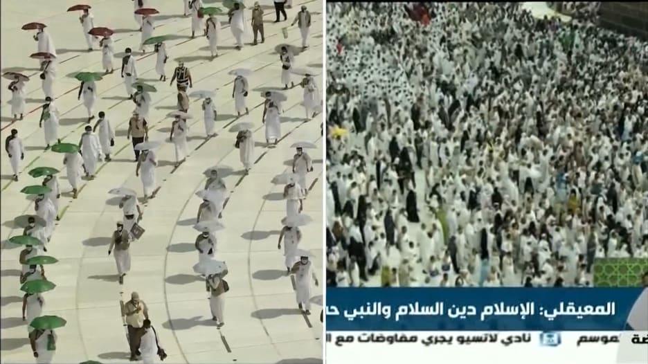 """""""حج رمزي"""" هذا العام وإجراءات صارمة من السعودية لعدم المخاطرة"""