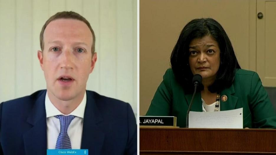 """الكونغرس يستجوب فيسبوك حول """"تهديد"""" المنافسين.. إليكم ما قاله زوكربيرغ"""