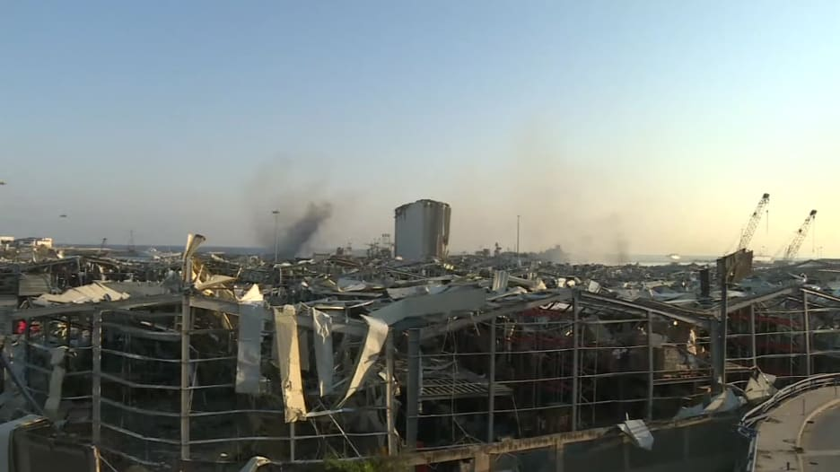 هكذا بدت بيروت في الصباح الذي تلى الانفجار