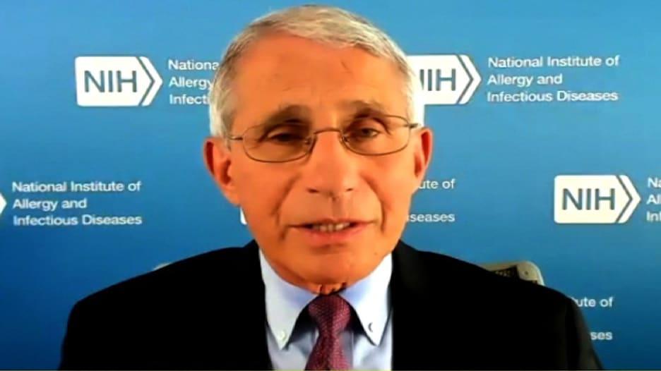 الدكتور فاوتشي يتحدث لـCNN عن عائلته: تلقينا تهديدات بالقتل