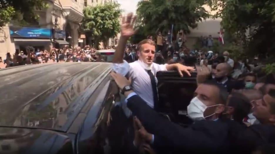 المساعدات تتدفق على لبنان بعد انفجار بيروت.. وماكرون: لن تصل لأيدي الفاسدين
