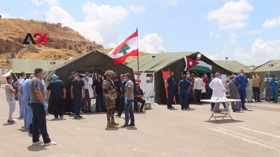 لمساندة لبنان.. المستشفى الميداني الأردني في بيروت يبدأ باستقبال مصابي الانفجار
