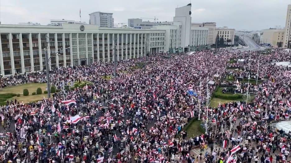 بيلاروسيا: قوات الأمن تحتشد في مواجهة احتجاجات المعارضة