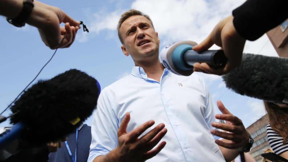الحكومة الألمانية: زعيم المعارضة الروسية أليكسي نافالني سمم بغاز الأعصاب نوفيتشوك