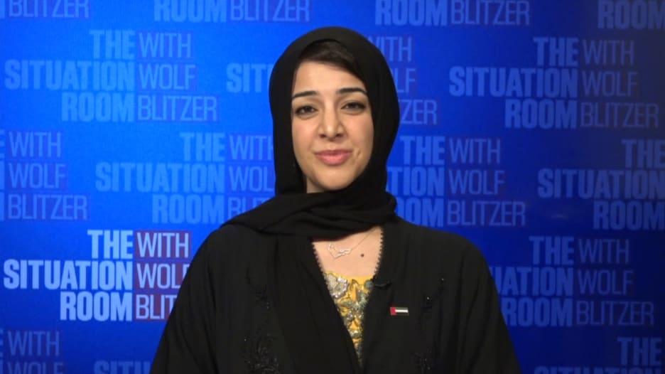 ريم الهاشمي لـCNN قبيل توقيع اتفاق السلام بين الإمارات وإسرائيل: حريصون على نهج الأمل والرخاء