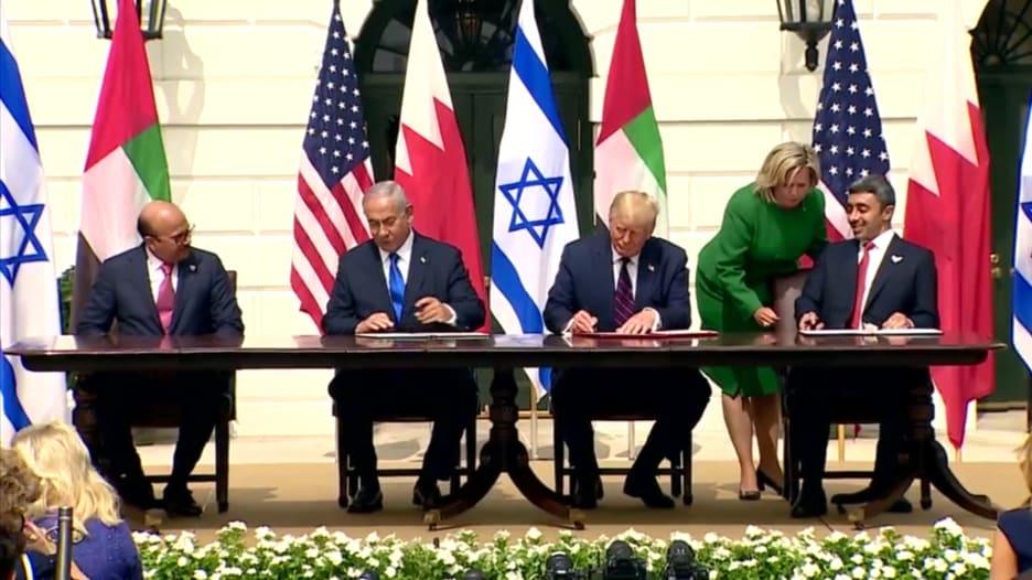 كل ما قد تحتاج معرفته عن حفل توقيع اتفاقية السلام بين الإمارات والبحرين وإسرائيل