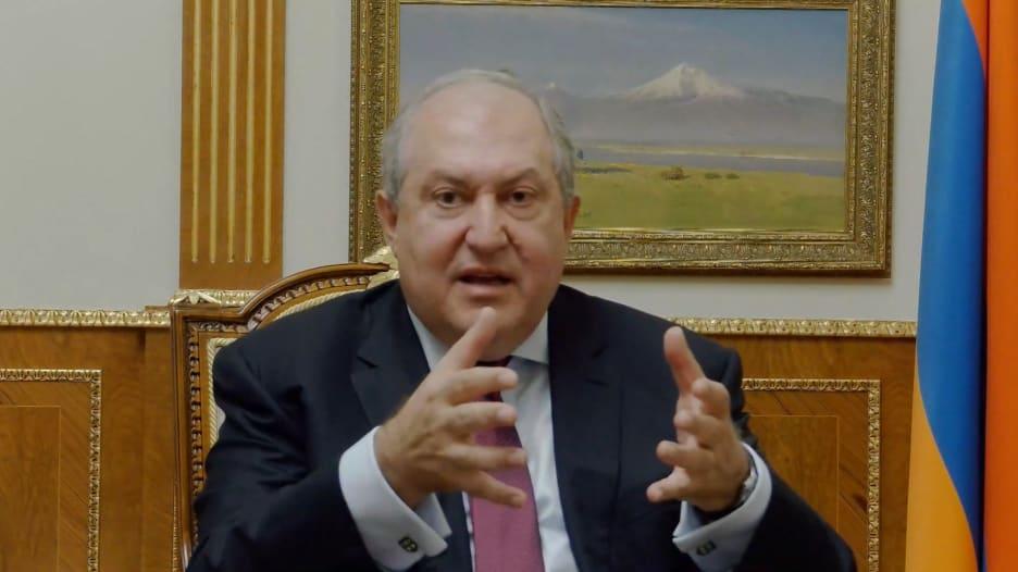 الرئيس الأرميني: ليكن الله في عون الجميع إذا تحولت القوقاز إلى سوريا أخرى