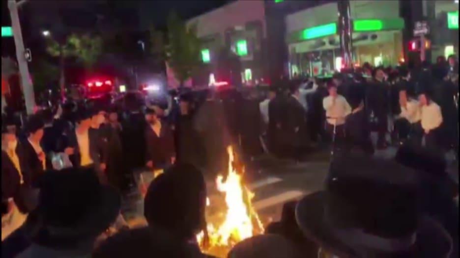 اليهود الأرثوذوكس يحتجون في نيويورك بسبب قيود كورونا
