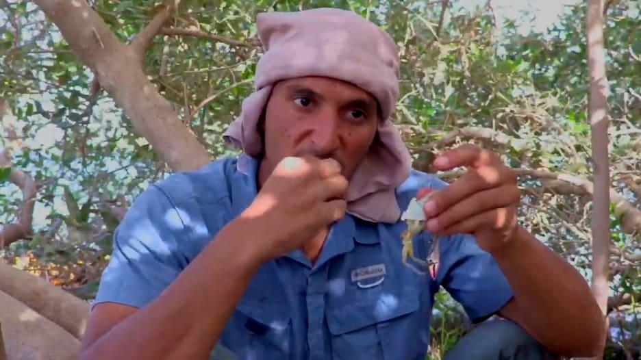 المغامر الإماراتي، خليفة المزروعي في جزيرة السينية، إمارة أم القيوين في دولة الإمارات