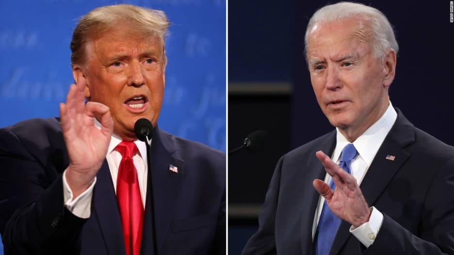 ترامب لبايدن: ترشحت للانتخابات بسببك أنت وأوباما.. كيف رد؟