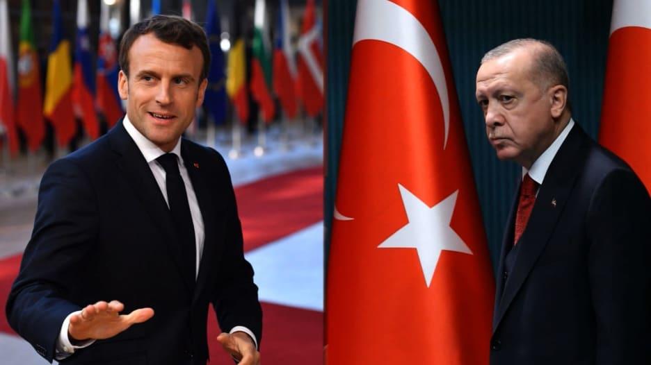 """فرنسا تستدعي سفيرها إلى تركيا بعد تصريح أردوغان """"ماكرون يحتاج علاجاً نفسياً"""""""