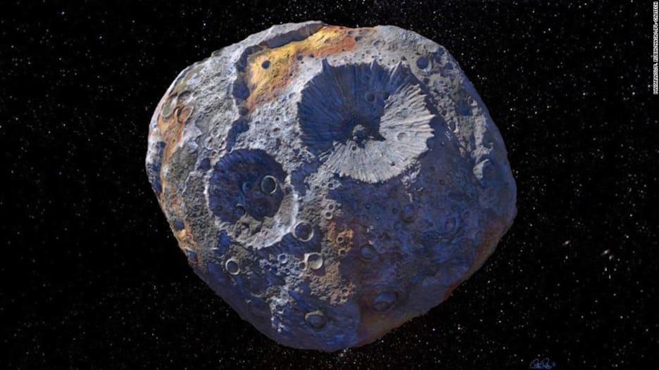 كنز يعوم في الفضاء.. كويكب نادر قيمته 10 آلاف كوادريليون دولار