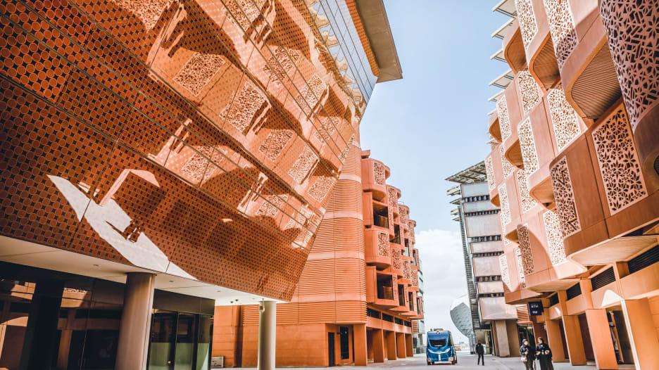 مدينة مصدر في أبوظبي، الإمارات العربية المتحدة