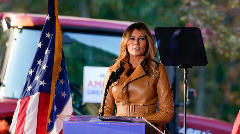 مع اقتراب ليلة الانتخابات.. ميلانيا تدافع عن ترامب وتهاجم الديمقراطيين