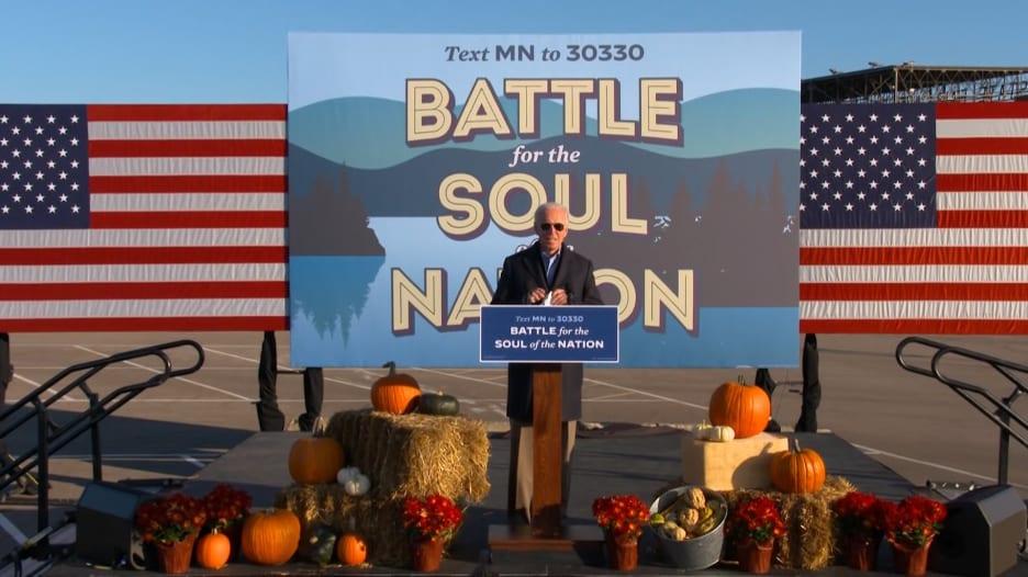 شاهد الفيديو الزائف المحذوف الذي أظهر بايدن على أنه غير لائق لرئاسة أمريكا