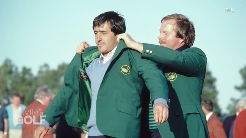 """سيفي بايستيروس.. بدأ بحمل عدة الغولف وأصبح أول أوربي يفوز بـ""""الماسترز"""""""