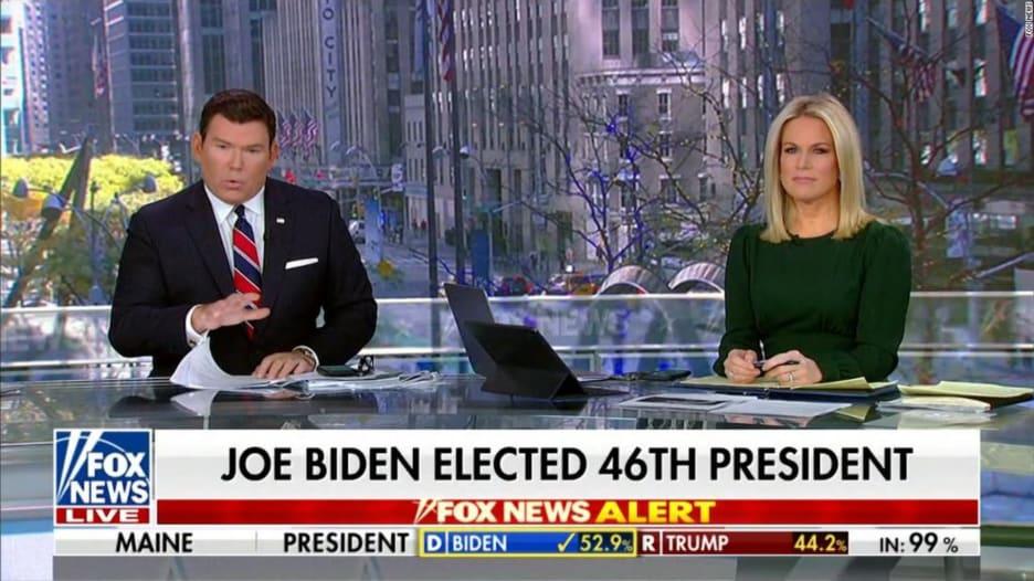 """""""تزوير الانتخابات"""".. هكذا أعلنت فوكس نيوز عن فوز بايدن"""