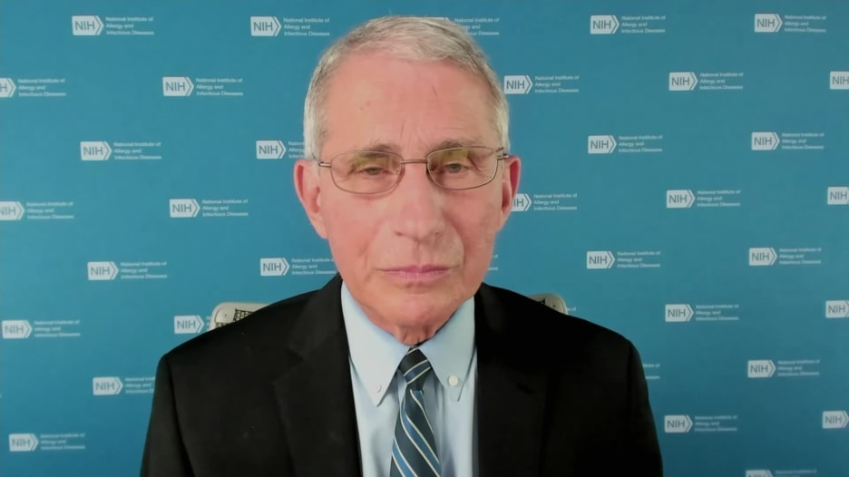 """الدكتور أنتوني فاوتشي: """"لقاح فيروس كورونا يمكن أن يكون متاحًا للجميع بحلول أبريل"""""""