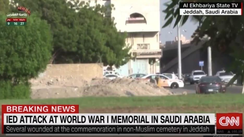 مراسل CNN يروي تفاصيل الانفجار في مقبرة لغير المسلمين في جدة