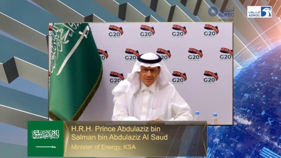 وزير الطاقة السعودي عبد العزيز بن سلمان يشرح دور لقاح كورونا في دعم الاقتصاد