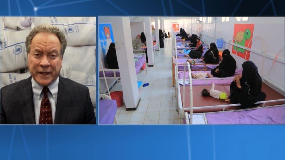 رئيس برنامج الأغذية العالمي يحذر من مجاعة في اليمن خلال بضعة أشهر