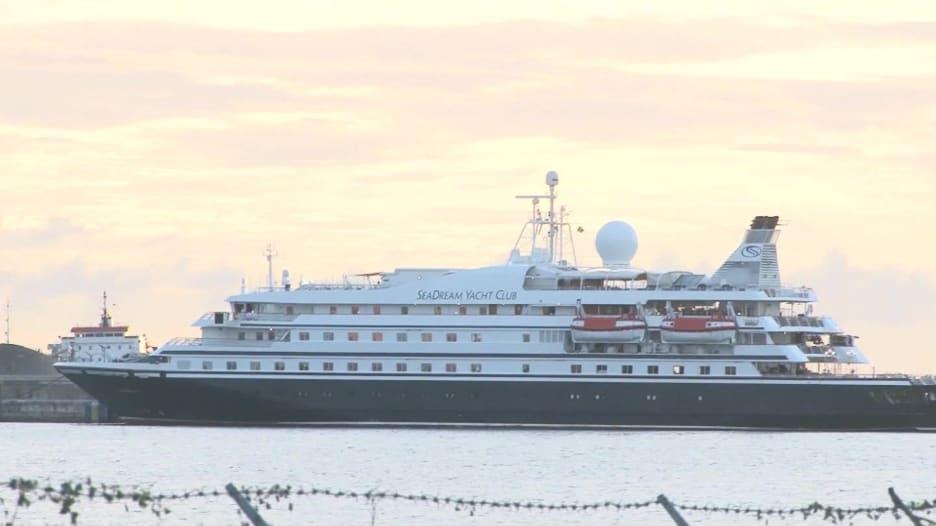 تم تشخيص إصابة سبعة أشخاص بفيروس كورونا في أول رحلة بحرية تبحر منذ بداية الوباء